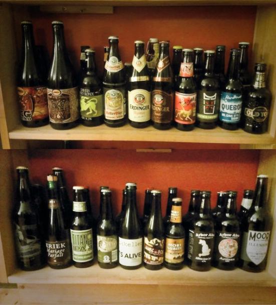 Lots of nice beer!